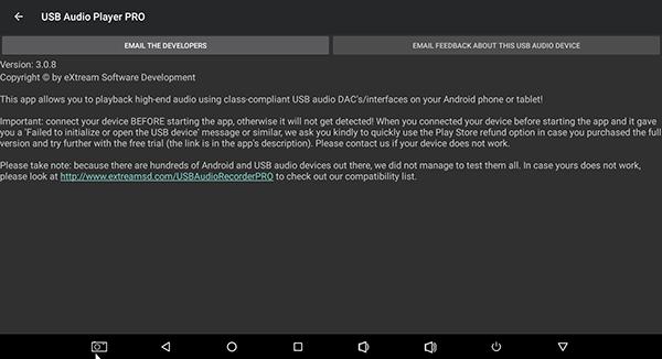 USB Audio Player PRO ứng dụng hỗ trợ DAC chơi nhạc đỉnh