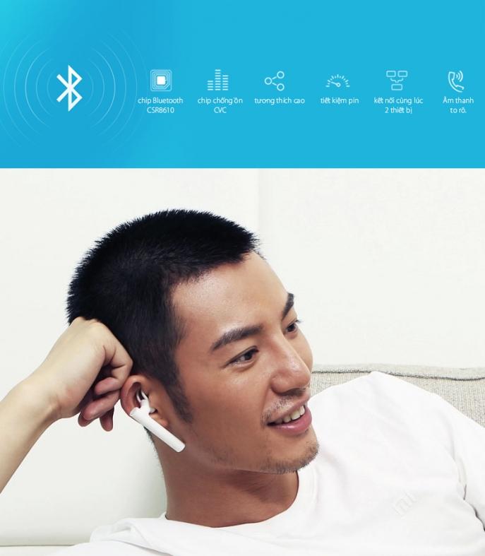Tai Nghe Bluetooth Xiaomi cao cấp chính hãng