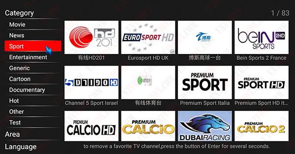 Tổng hợp ứng dụng xem các kênh thể thao BeinSport trực tiếp bóng đá