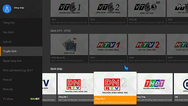 Tổng hợp ứng dụng xem tốt các kênh truyền hình địa phương trên tv box