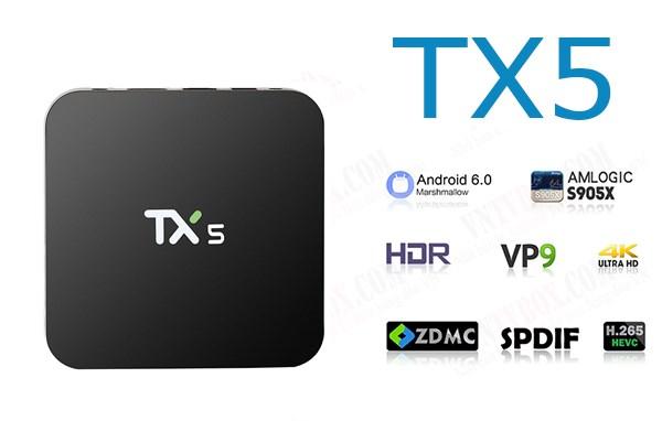 TV Box TX5 Amlogic S905X ram 2GB mạnh mẽ giá quá rẻ