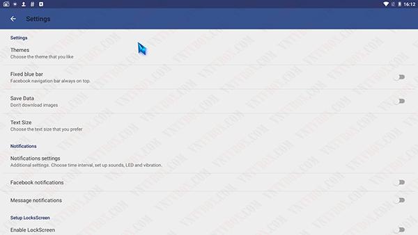 Ứng dụng chat chít cập nhật facebook twitter 3 trong 1 siêu gọn nhẹ