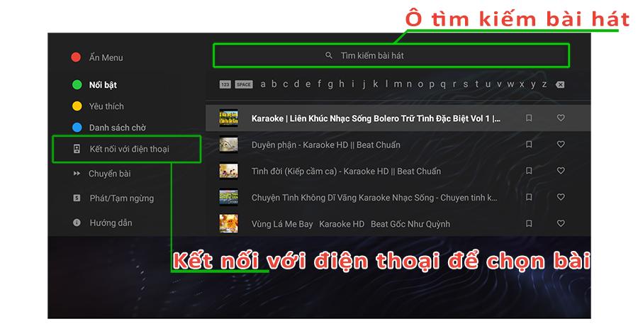 Ứng dụng Karaoke nào tốt nhất dùng điện thoại để chọn bài