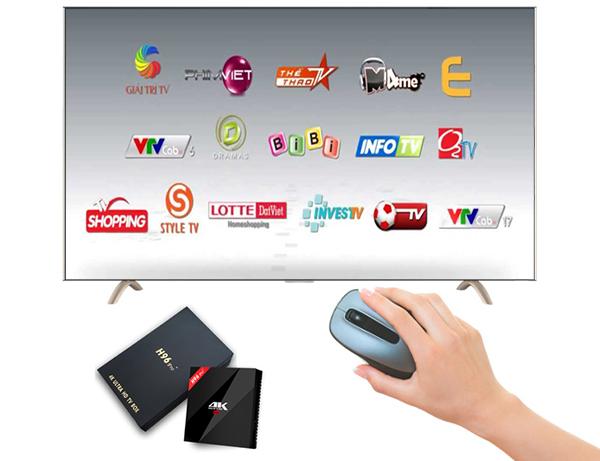 Ứng dụng xem truyền hình cáp Việt Nam VTVcab ON đủ kênh VTV TheThaoHD