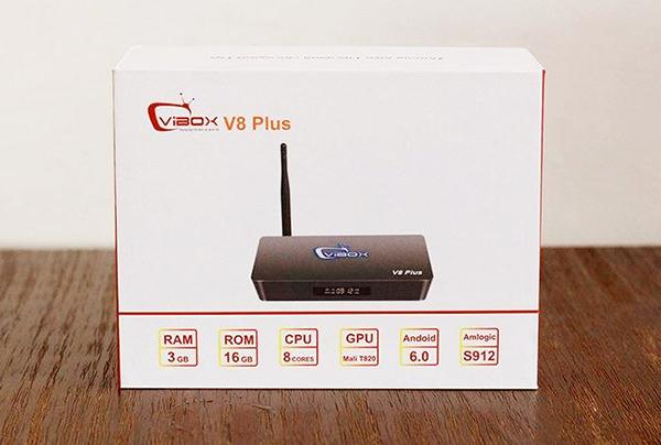 TV Box Vibox V8 PlusRAM3GB khuấy đảo thị trường Android Box hàng Việt Nam