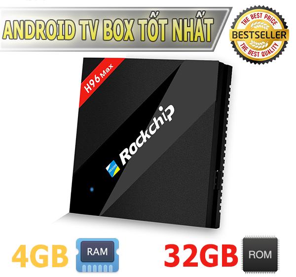 Tivi Box Alfawise H96 Max cấu hình cực mạnh 4GB RAM chip xử lý số 1 - RK3399