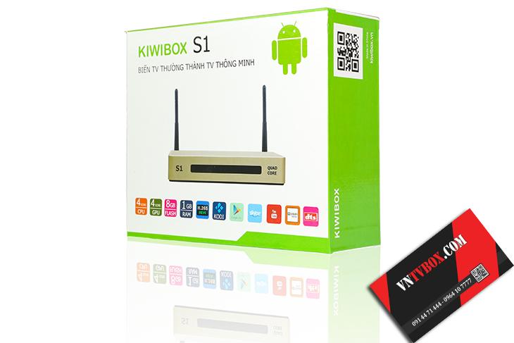 Android TV Box Kiwibox S1 giá rẻ phải chăng