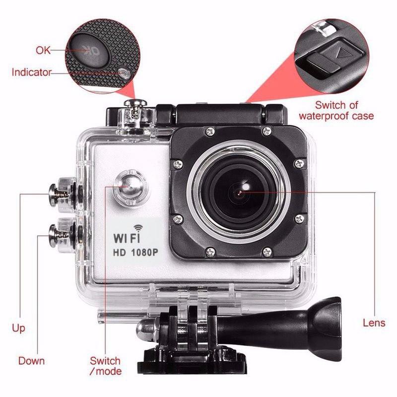 Bán Camera Hành Trình 4K Thể Thao Chuyên Phượt Có Wifi