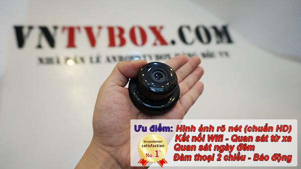 Camera IP Wifi Mini không dây siêu nhỏ quay lén cực tốt