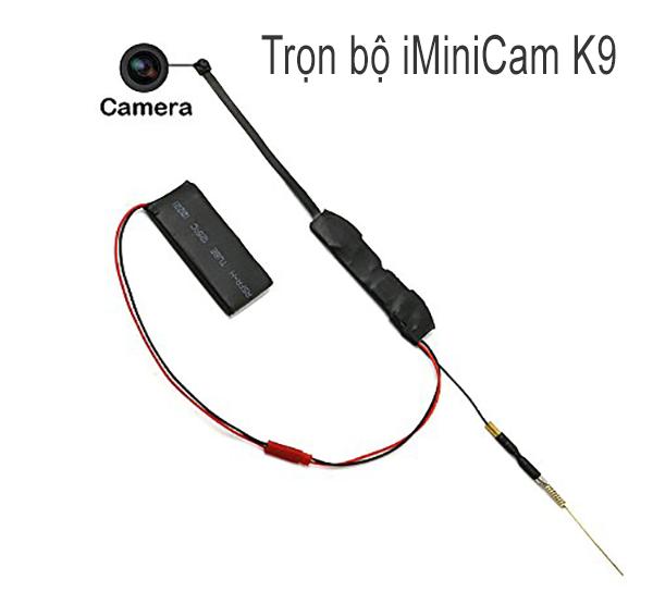 CAMERA IP WIFI không dây siêu nhỏ quay lén iMiniCam K9