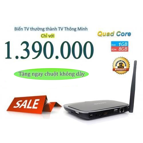 Đánh giá giới thiệu Android Tv Box giá rẻ GR BOX