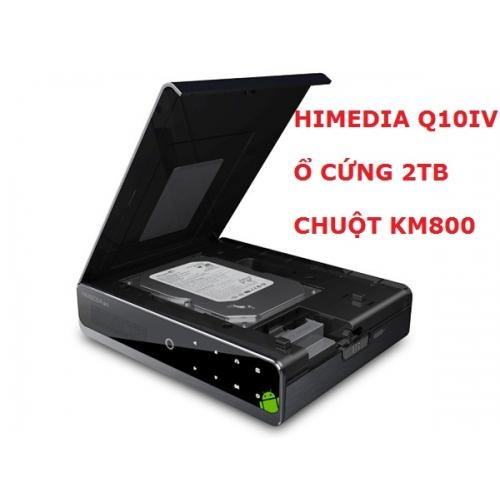 HIMEDIA Q10IV + Ổ CỨNG 2TB + CHUỘT BAY KM800