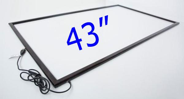 Khung màn hình cảm ứng cho TV 43 inch Multi Touch Screen
