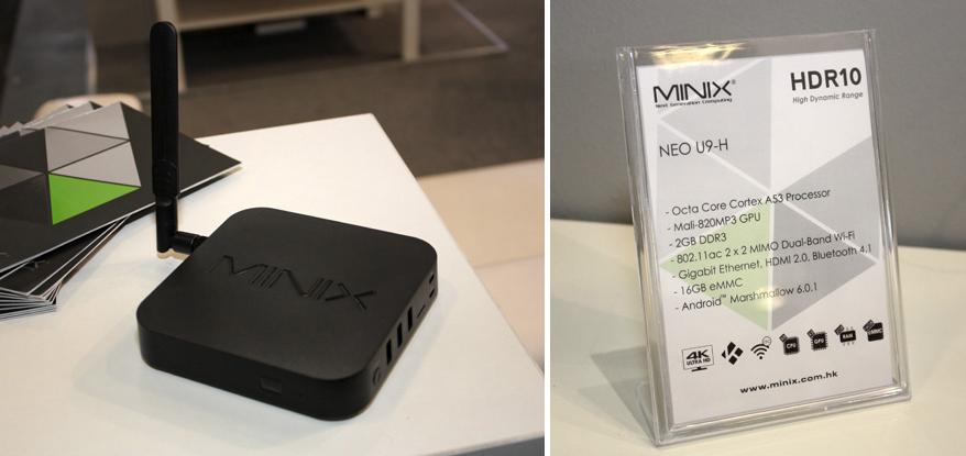Minix Neo U9-H Amlogic S912-H Octacore siêu phẩm đỉnh cao