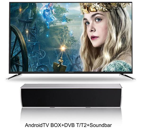 Soundbar TV Box Mecool KS2 hỗ trợ giải mã DVB T2 và DSP