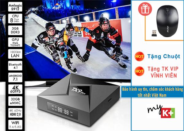 TX9 Pro sản phẩm tốt nhất của Tanix với RAM 3GB ROM 32 GB