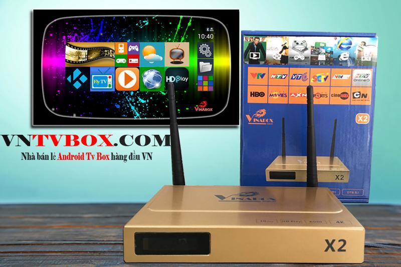 TV Box Vinabox X2 sản phẩm giá rẻ lắp ráp tại Việt Nam