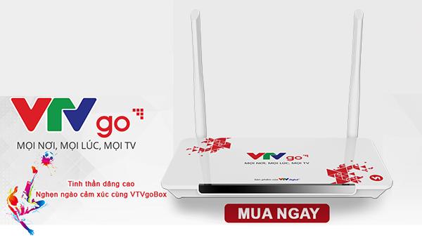 VTVGO V1 hộp chuyển đổi để kết nối Internet cho tivi thường