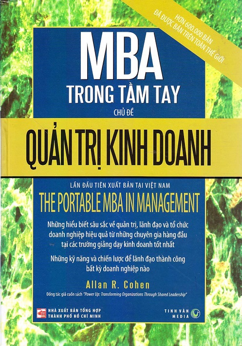 MBA TRONG TẦM TAY CHỦ ĐỀ QUẢN TRỊ KINH DOANH