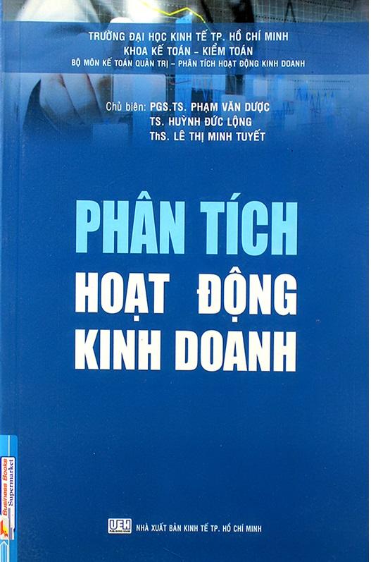 PHÂN TÍCH HOẠTĐỘNG KINH DOANH (ĐẠI HỌC KINH TẾ TPHCM)