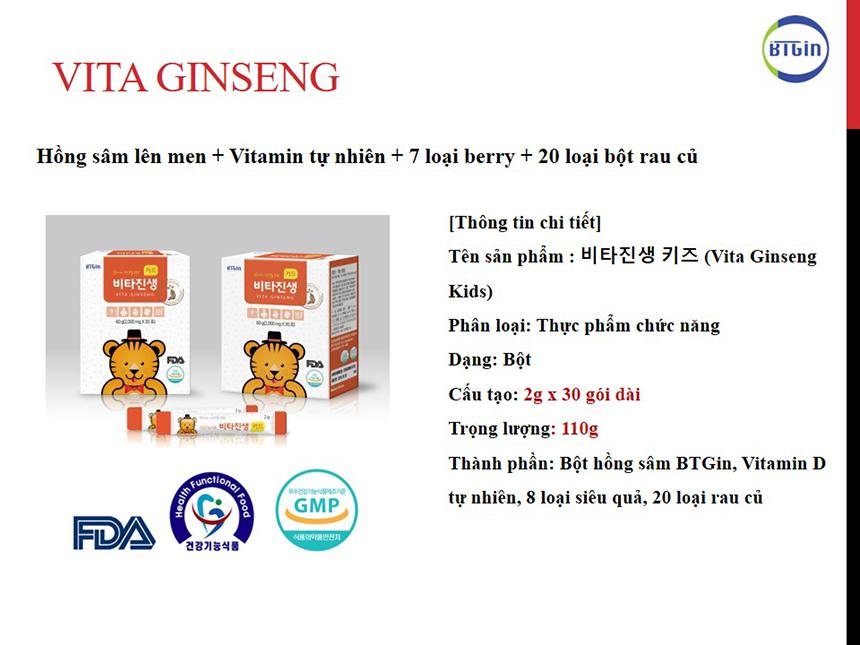 Những lưu ý cần nhớ trước và trong khi dùng hồng sâm baby Hàn Quốc cho con