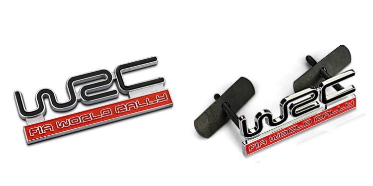 Chữ nổi WRC Độ xe hơi kim loại B12_007