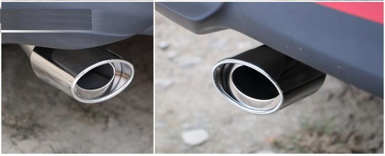 Ống xả độ  đơn cong xe hơi OBD B11_013