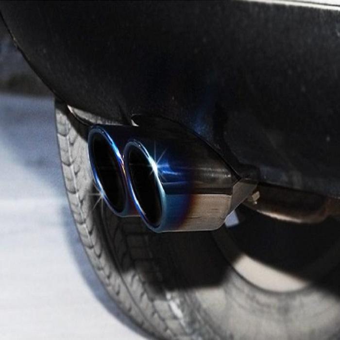 Ống xả độ cháy, kép cong xe hơi OBD B11_009