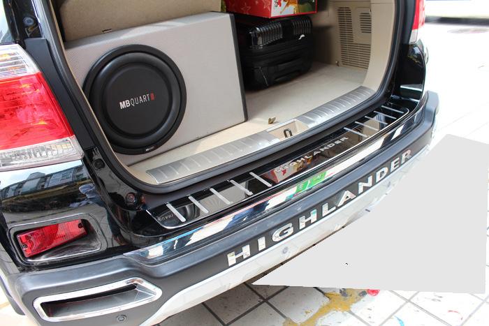 Nẹp chống xước cốp sau theo hãng xe loại nhỏ B05_009