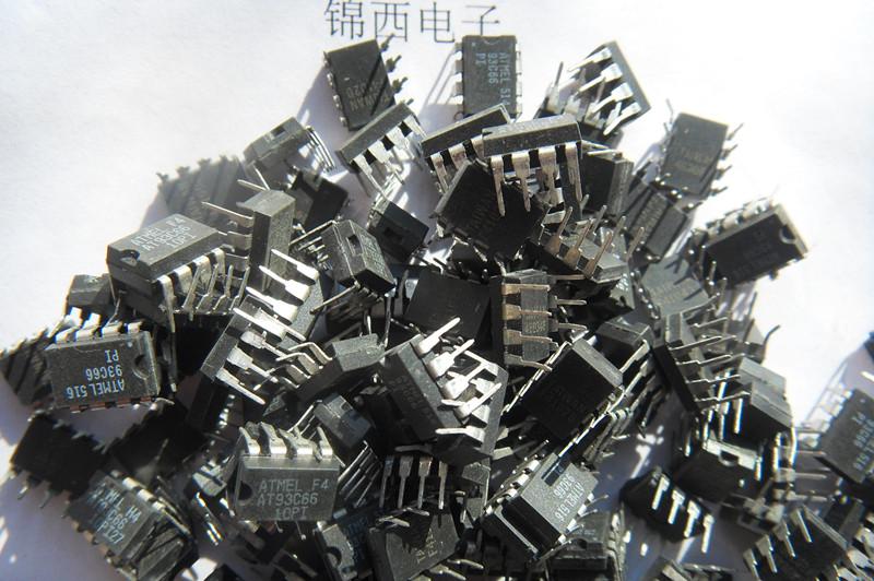 IC ( chíp nhớ điện tử ô tô) DIP08 93C 46, 93C56, 93C66,93C76,93C86
