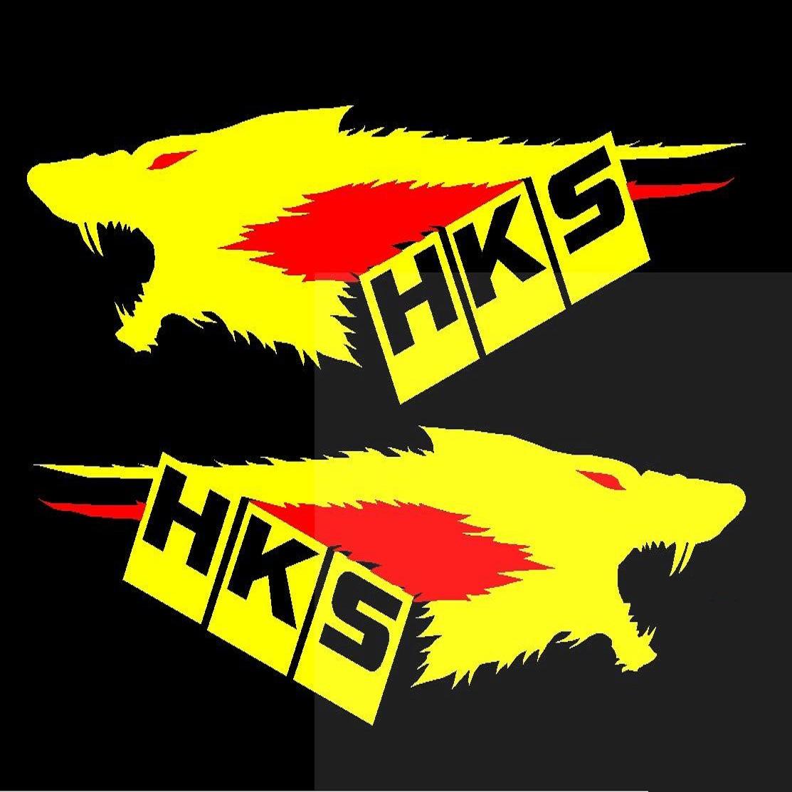 Tem đề can cửa xe HKS B02_019