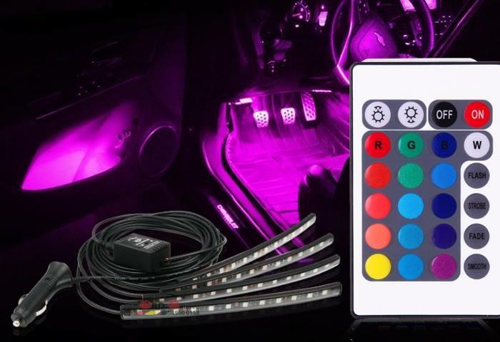 Đèn LED Gầm Nội Thất Tùy Chỉnh OBD