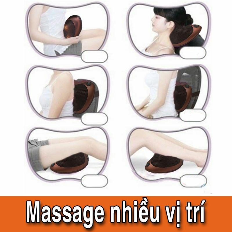 Gối Tựa Đầu Massage Bi