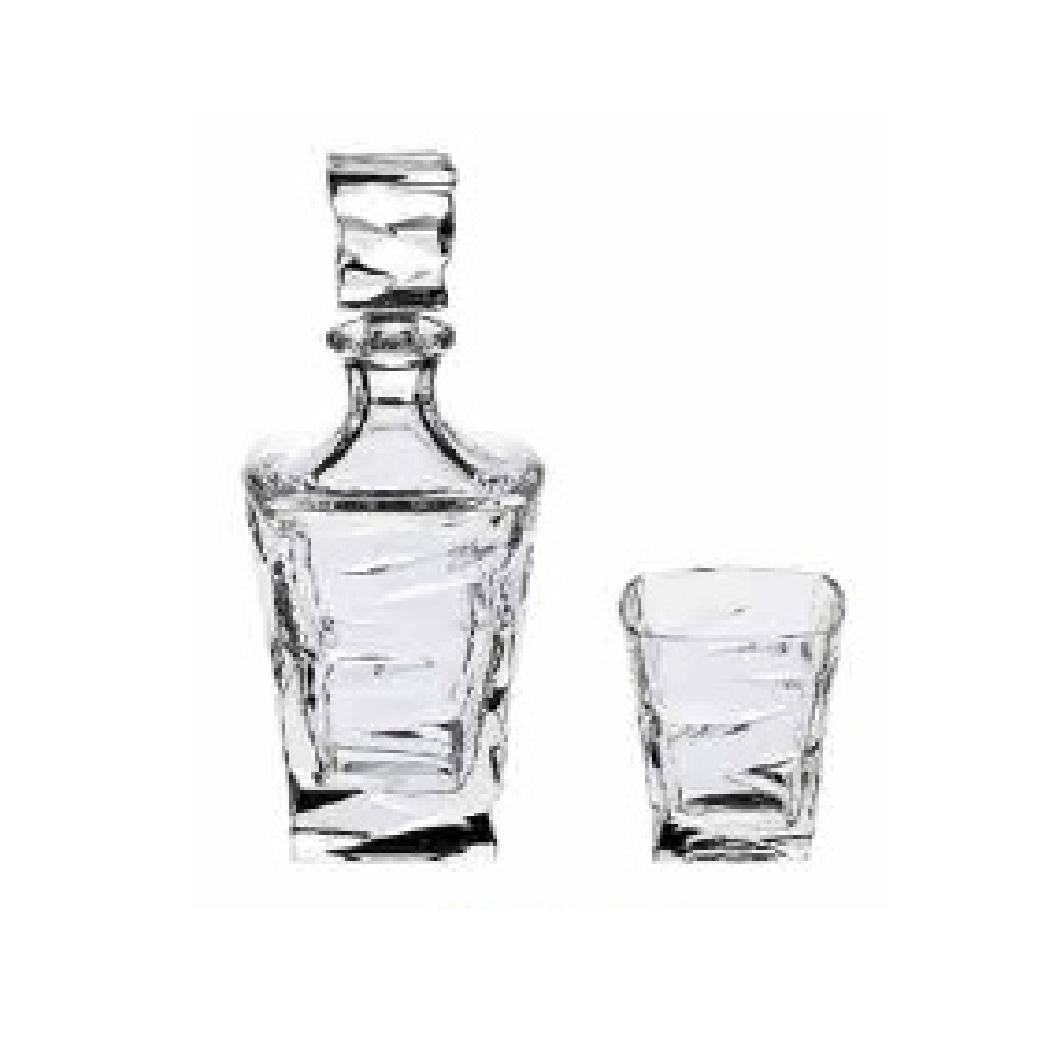 Bộ bình ly rượu Bohemia cao cấp ATP - 07