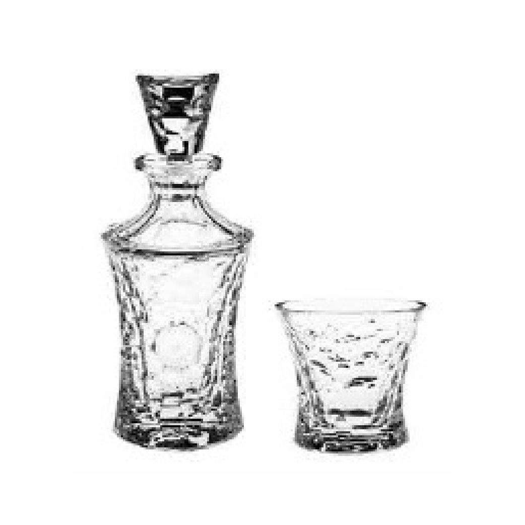 Bộ bình ly rượu Bohemia cao cấp ATP - 20