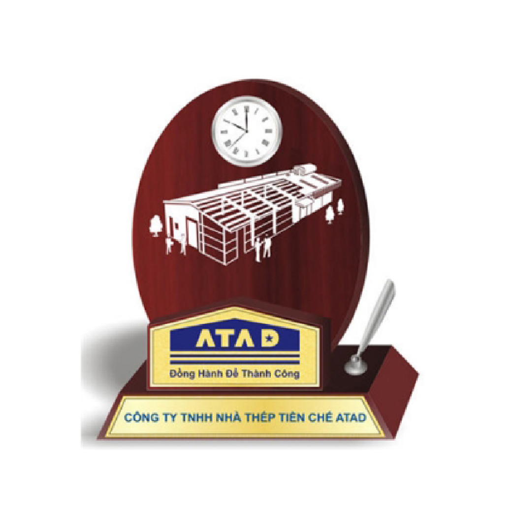 Biểu trưng gỗ đồng ATP - 13