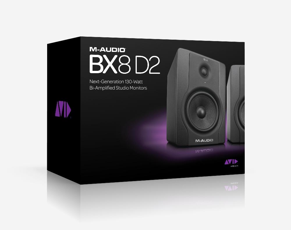 Loa kiểm âm monitor M-Audio BX8-D2