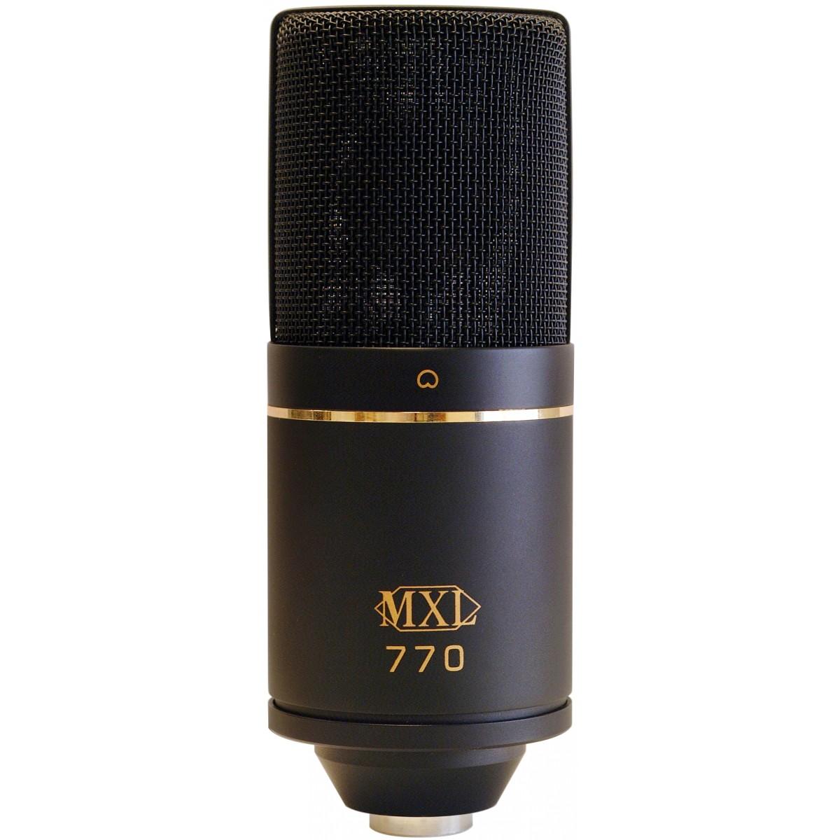 Micro thu âm MXL 770