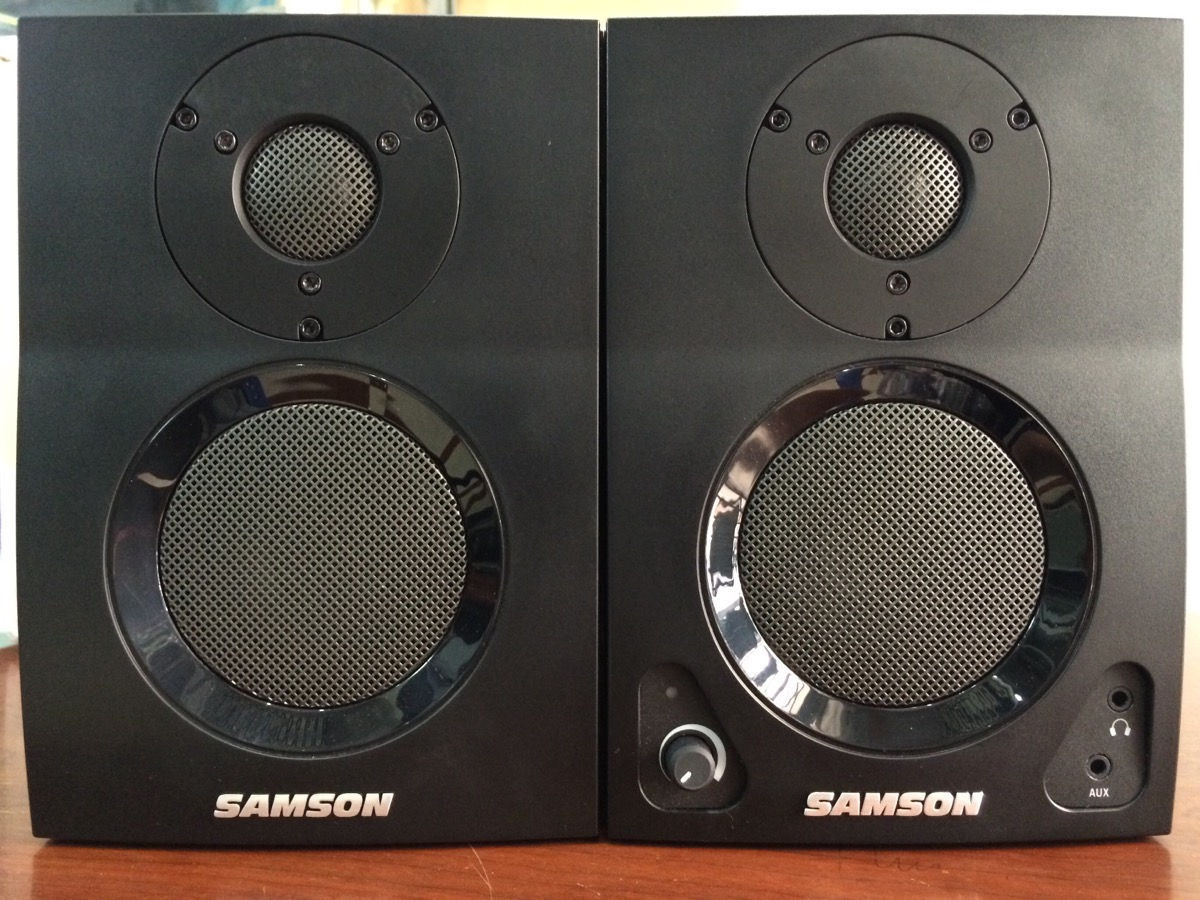 Loa kiểm âm monitor Samson MediaOne BT3
