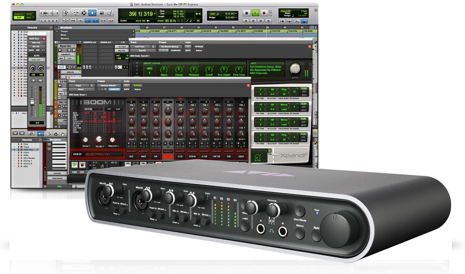 Sound card thu âm Avid MBox Pro