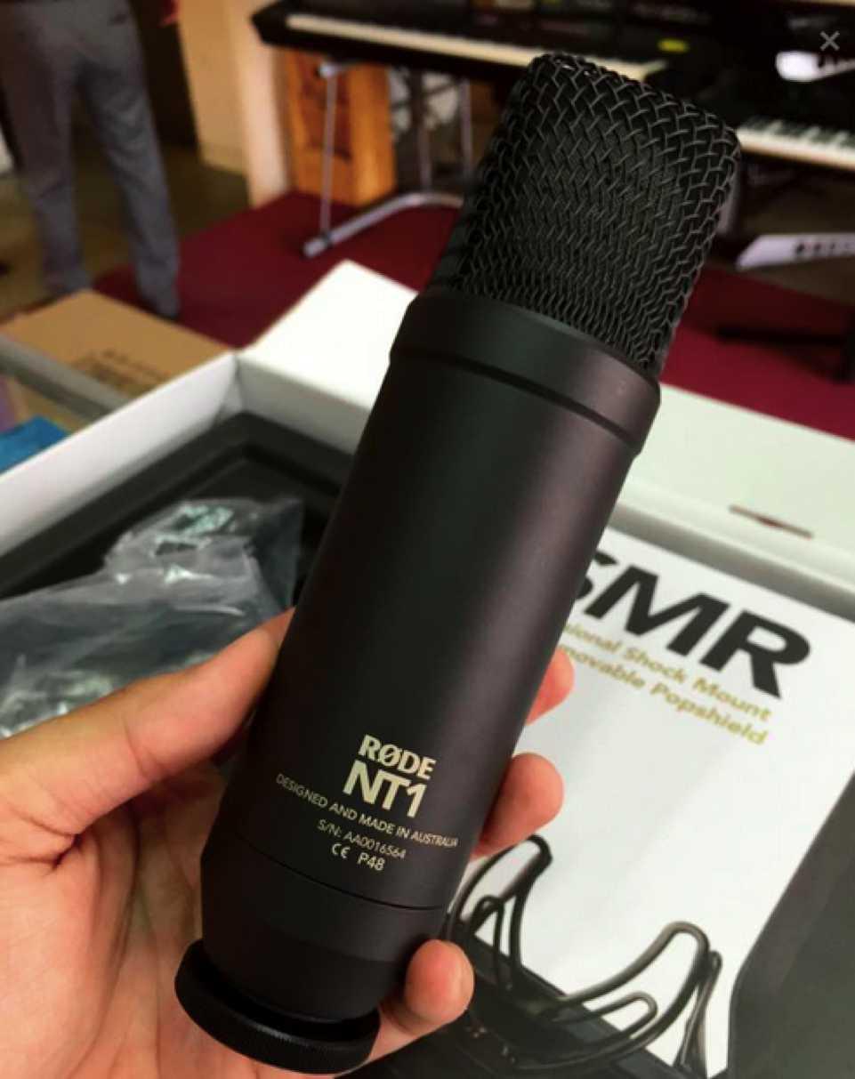 Micro thu âm Rode NT1 Kit