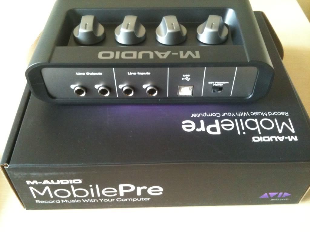Sound card thu âm Maudio MobilePre MKII
