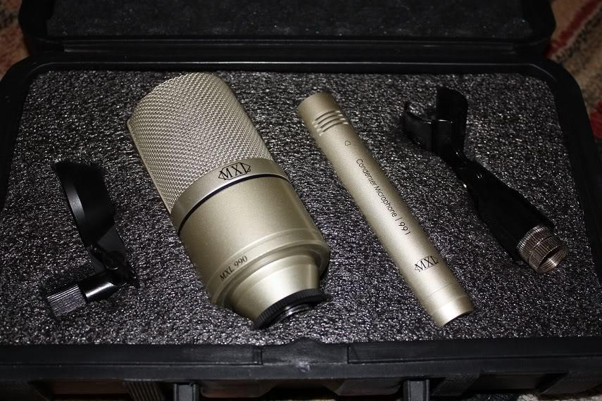 Micro thu âm MXL 990 - 991