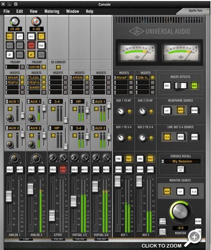 Sound card thu âm UAD TWIN DUO