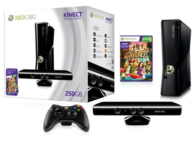 Máy Xbox 360 Slim 250GB + Kinect JTAG