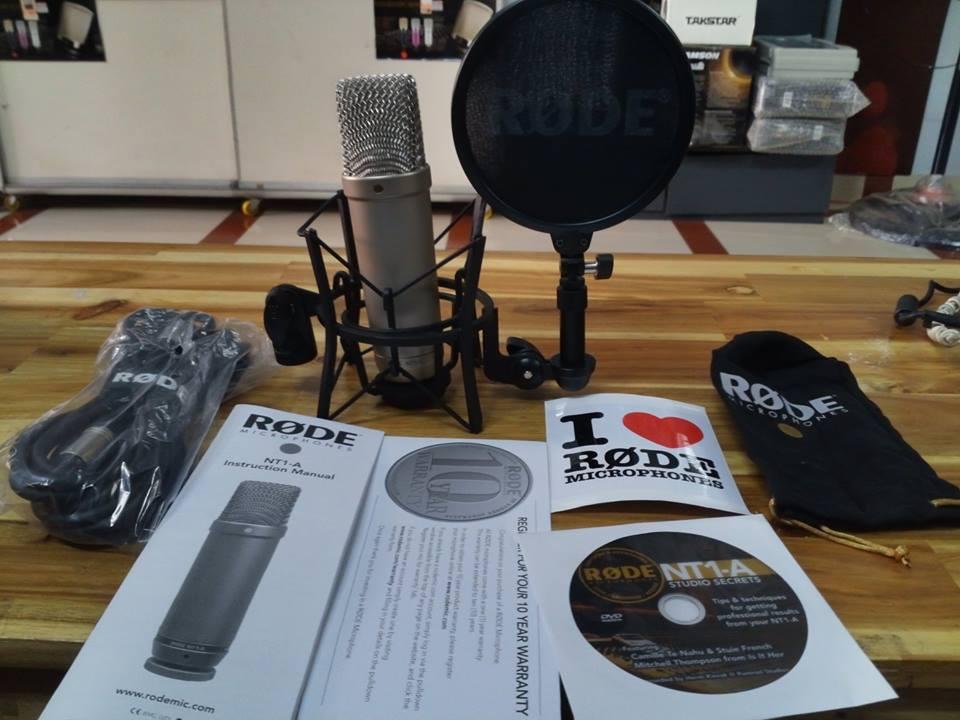 Micro thu âm RODE NT1A
