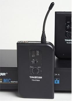 Micro cài áo không dây Takstar TS-6700PP