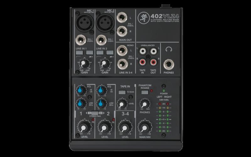 Mixer Mackie 402 - VLZ4 (4 kênh)
