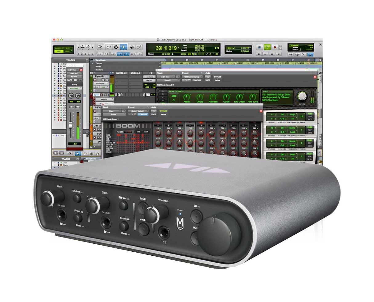 Sound card thu âm Avid MBox 3