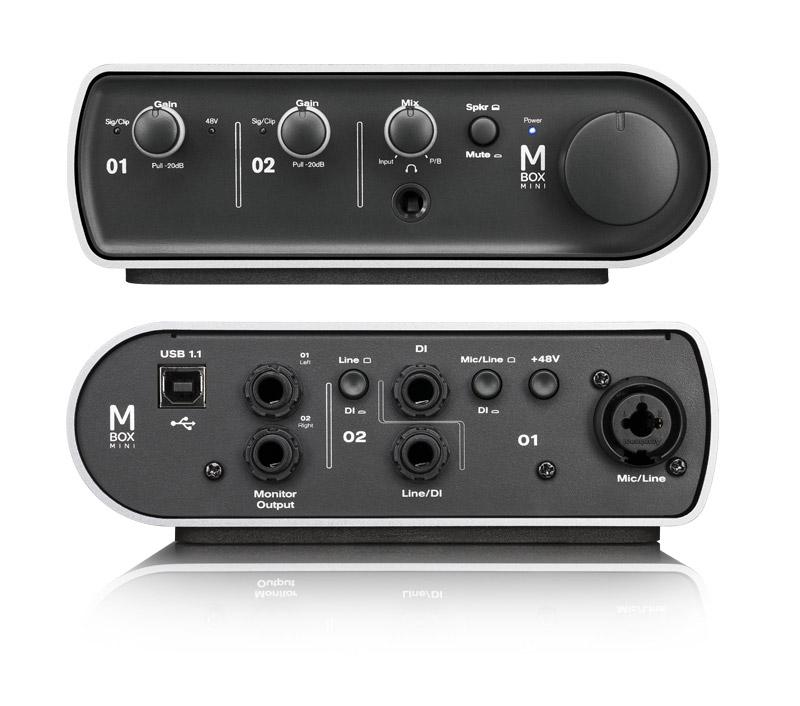 Sound card thu âm Avid Mbox Mini